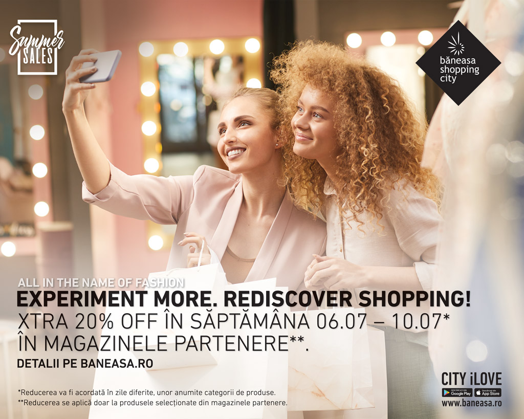 20% XTRA discount by Baneasa Shopping City
